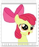 Apple Bloom Stamp by Teamscout11