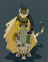 Scrap Droid (PeeAr-ArSixThree) [ref] by: thelittle
