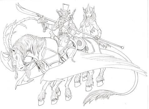 PackRat on Killpie sketch Fiverr by darthcestual