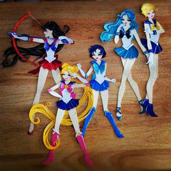 Sailor Scouts. Progress