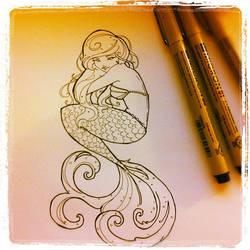 Mermaid Tattoo by Shimakotodo