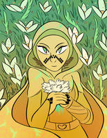Barriss the Botanist by Seagullpendragon