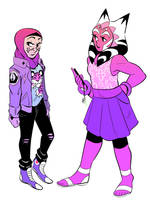 Pastel Punks by Seagullpendragon