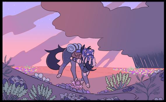 Sprig Superbloom In the Brouzet Desert