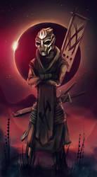Turian swordsman by mauritzon