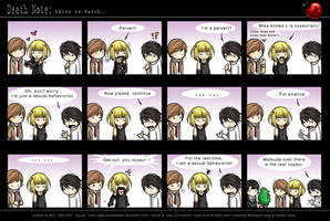 Death Note: Likes to Watch. by eychanchan