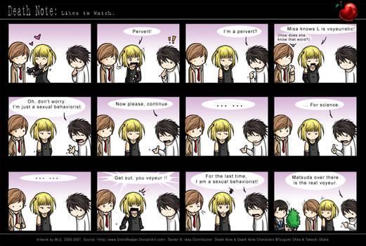 Death Note: Likes to Watch.