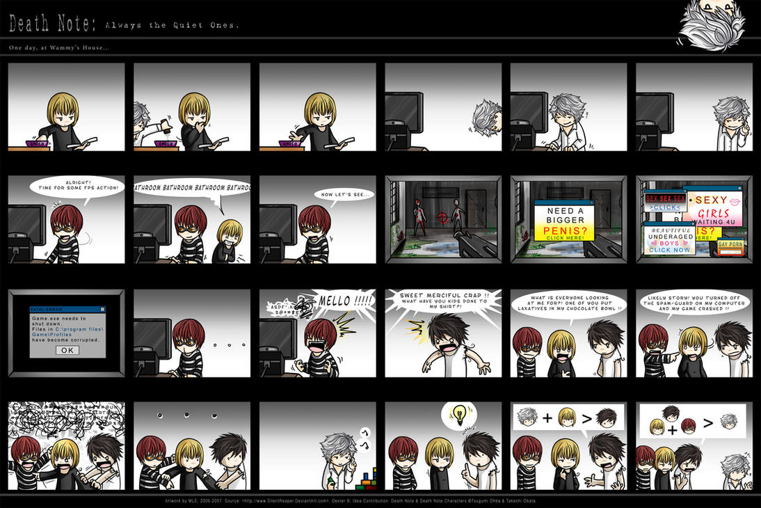 Death Note: The Quiet Ones. by SilentReaper