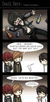 Death Note: Confusions by eychanchan