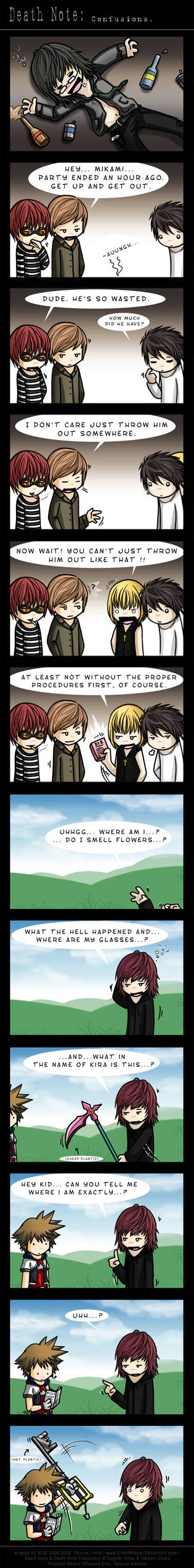 Death Note: Confusions