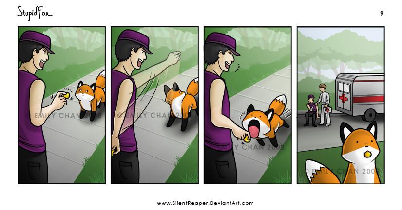 StupidFox - 9 by SilentReaper