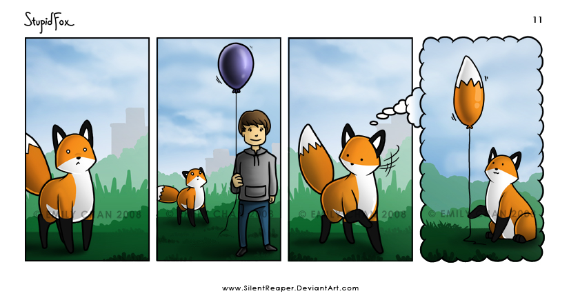 StupidFox - 11 by SilentReaper