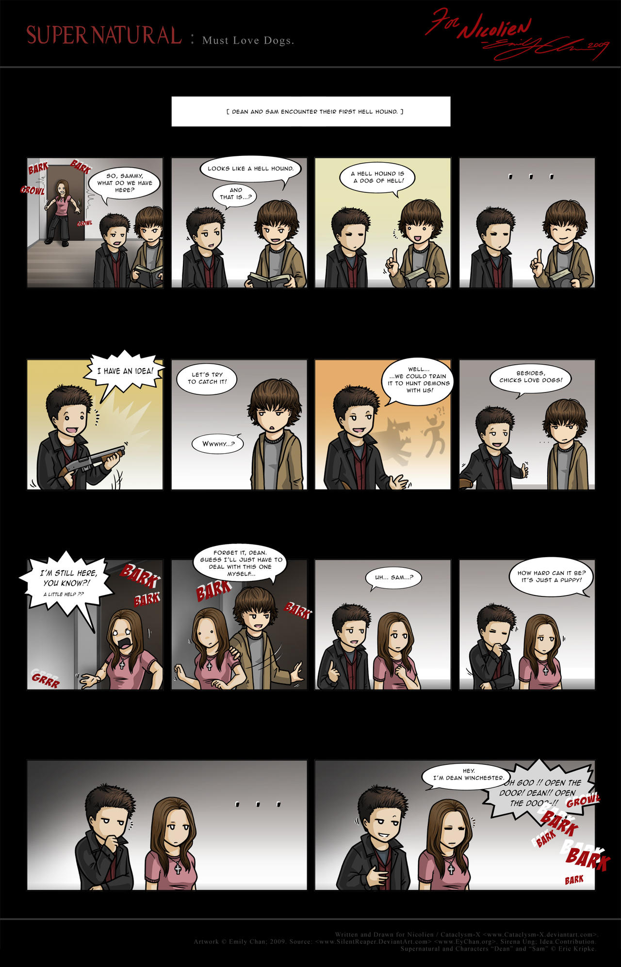 Supernatural: Must Love Dogs. by SilentReaper