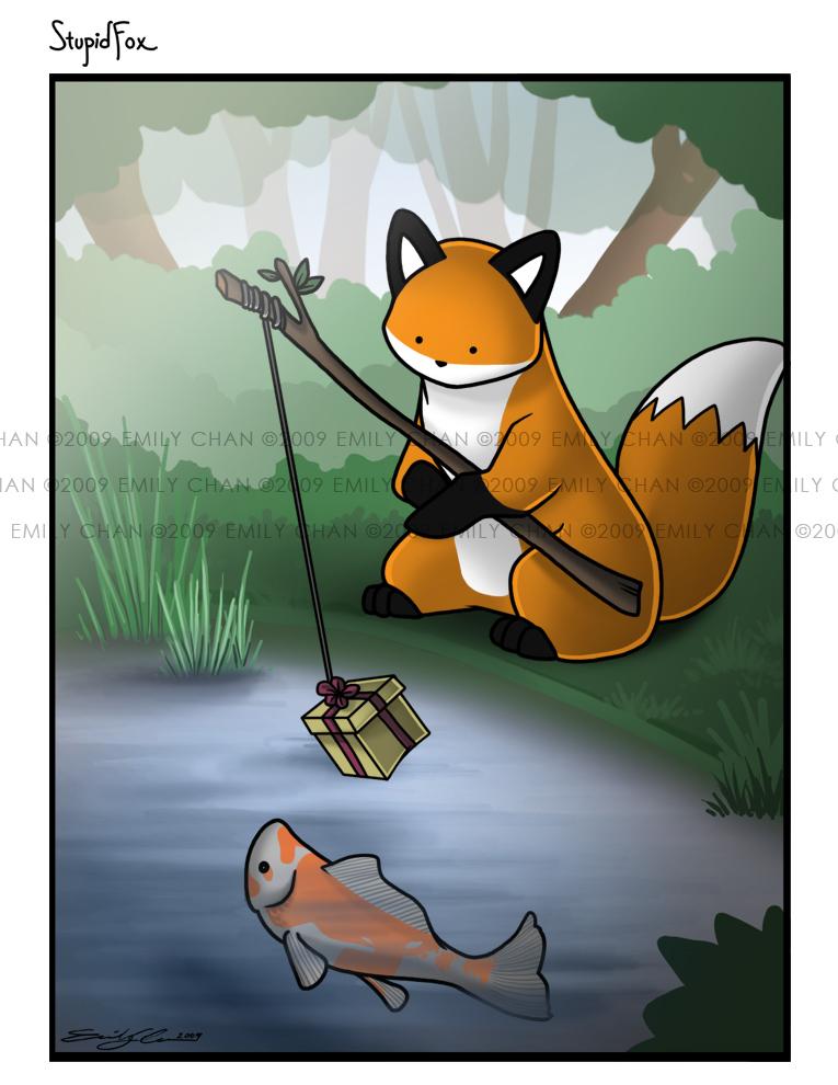 I'm a stupid fox StupidFox___C_by_SilentReaper