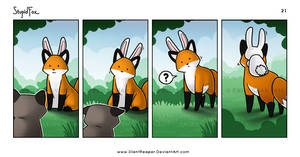StupidFox - 21a by eychanchan