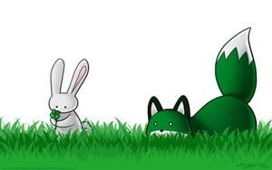 GreenFox by eychanchan