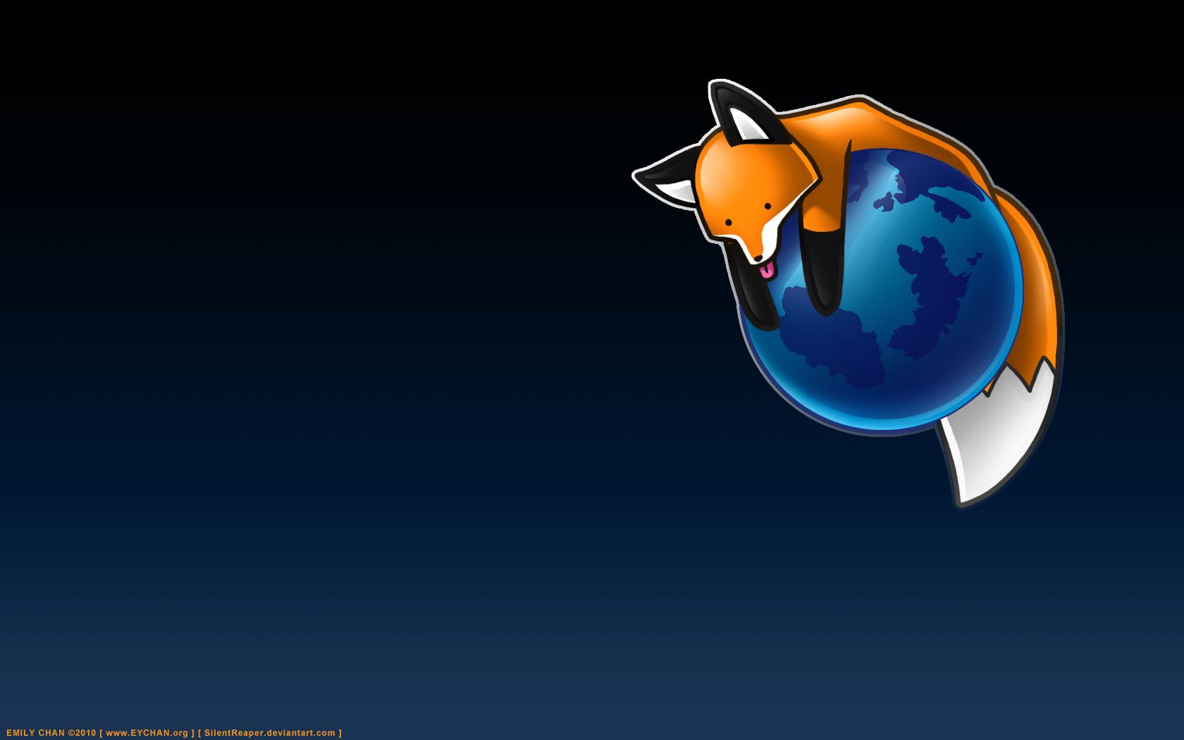 Stupidfirefox by eychanchan on deviantart - Fox desktop background ...