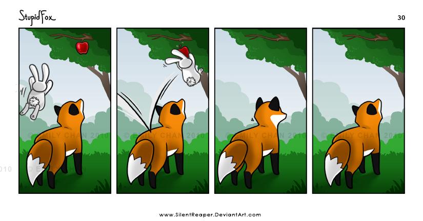 StupidFox - 30 by SilentReaper