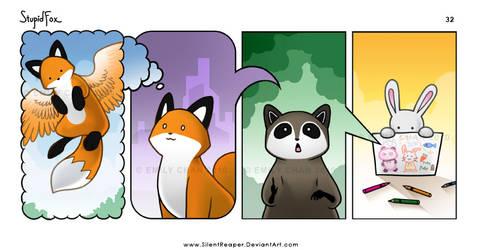 StupidFox - 32 by eychanchan