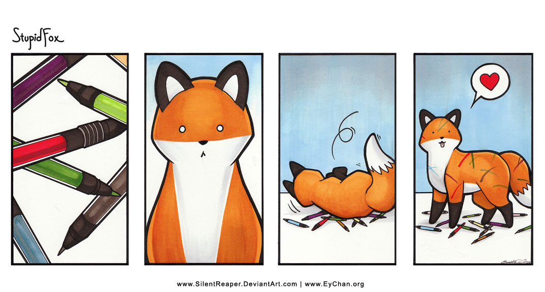 I'm a stupid fox StupidFox___33a_by_SilentReaper