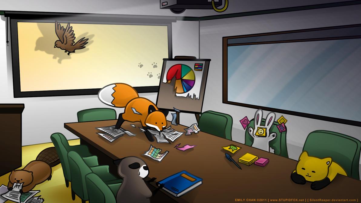 CorporateFox by SilentReaper