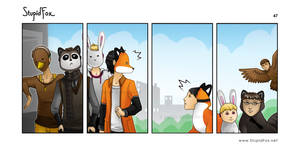 StupidFox - 47 by eychanchan