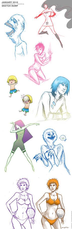JAN2012  - Sketch Dump