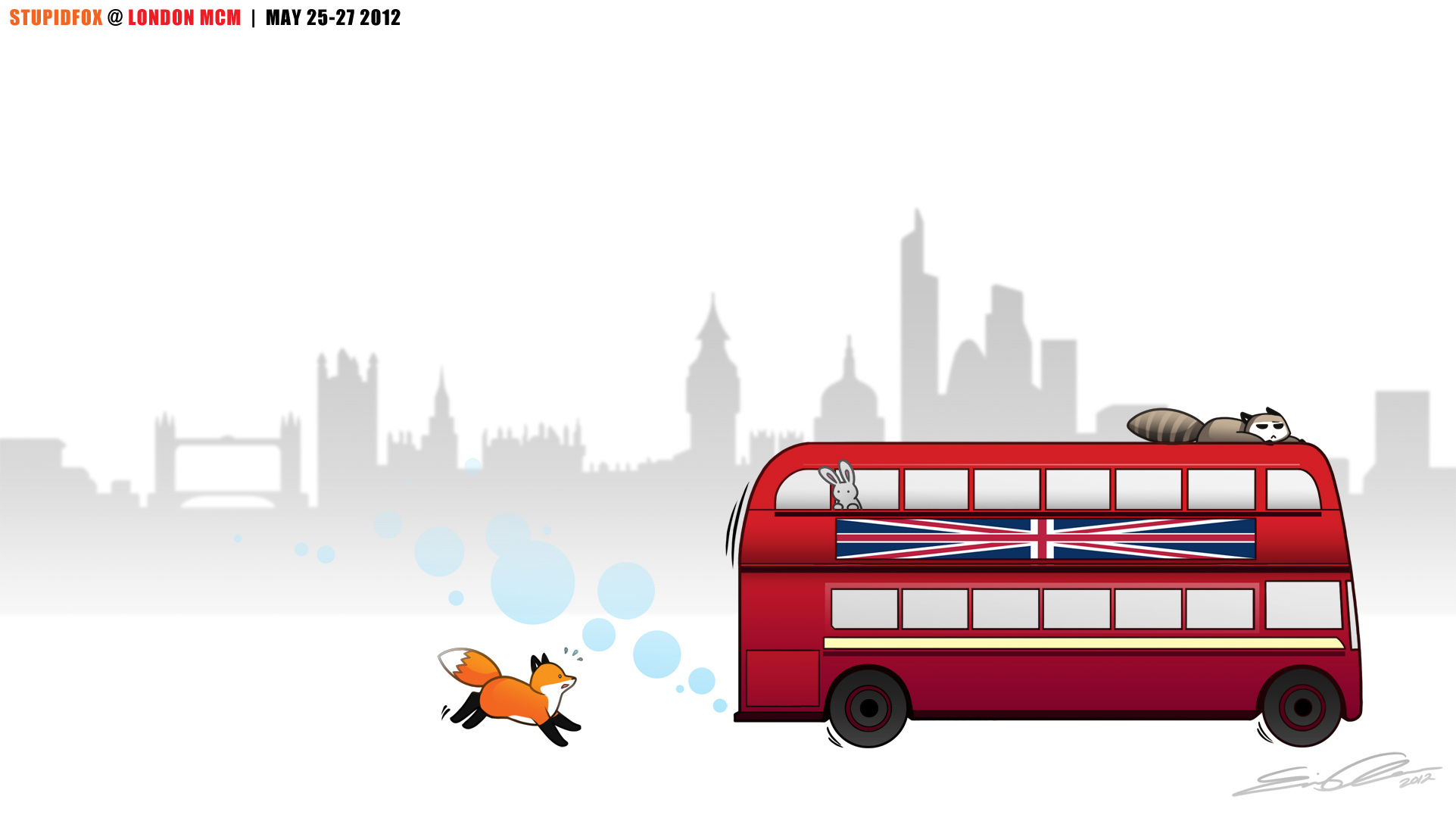 StupidFox - London by SilentReaper