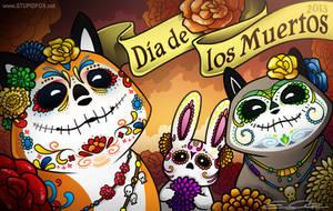 Dia de los Muertos by eychanchan