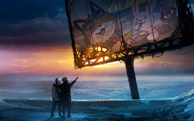 Paradise - Romantically StupidFox Apocalypse by eychanchan
