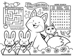Fun with StupidFox - Placemat