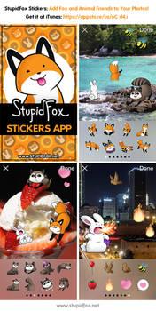 StupidFox Stickers App