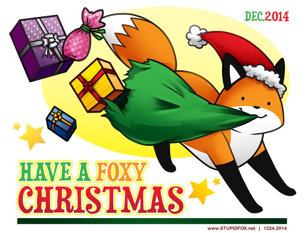 Merry Foxmas by SilentReaper