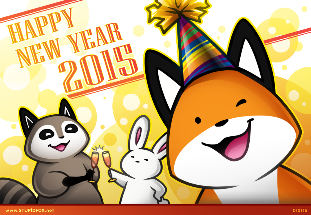Happy Foxy New Year by SilentReaper