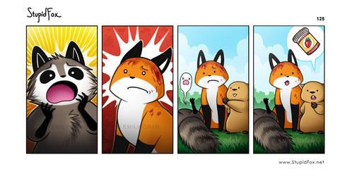 StupidFox - 125 by eychanchan