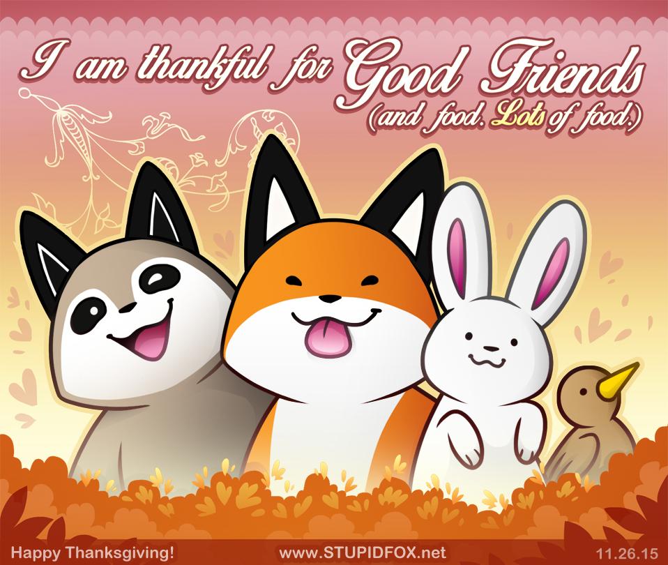 Friendsgiving! by SilentReaper