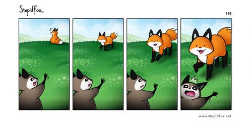 StupidFox - 156 by eychanchan