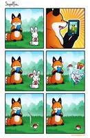 StupidFox No by eychanchan