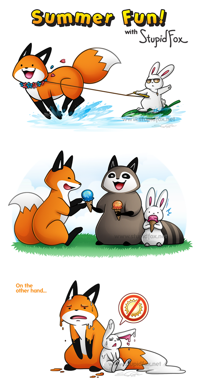Summer Fun with Fox! by SilentReaper