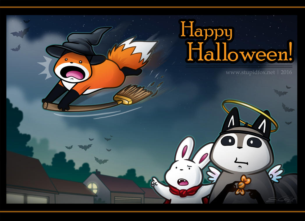 Hallo Halloween by SilentReaper