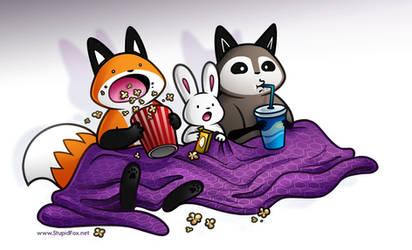 Movie Night by eychanchan