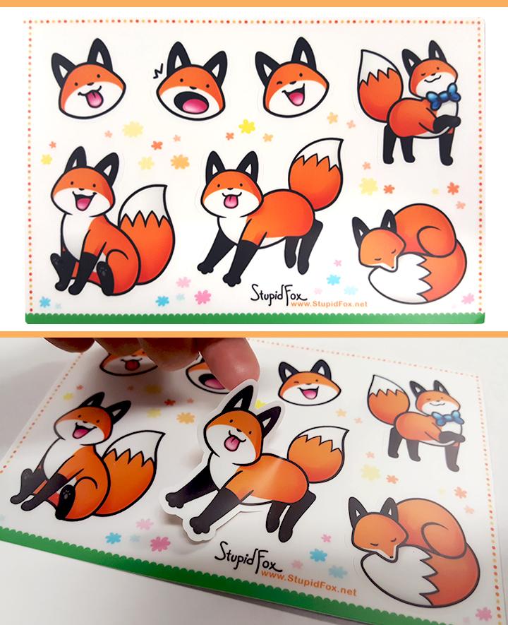 StupidFox Stickers