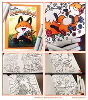 StupidFox Coloring Book