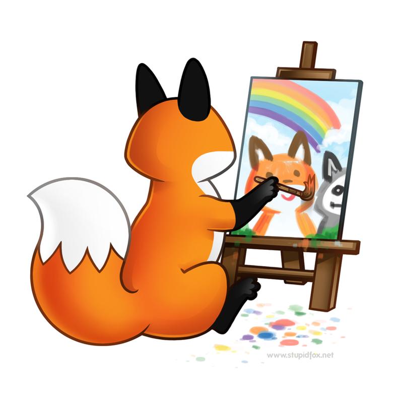 Paint Paint Paint by eychanchan