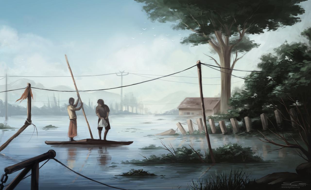Flood by eychanchan