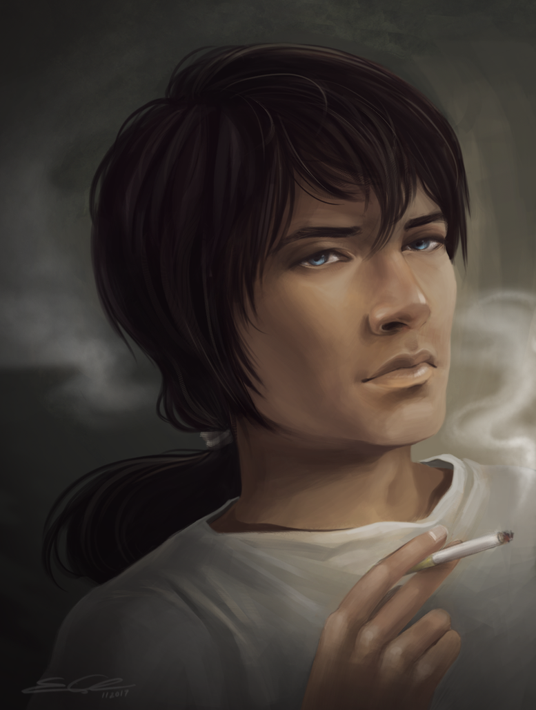 Smoke and Shadows by eychanchan