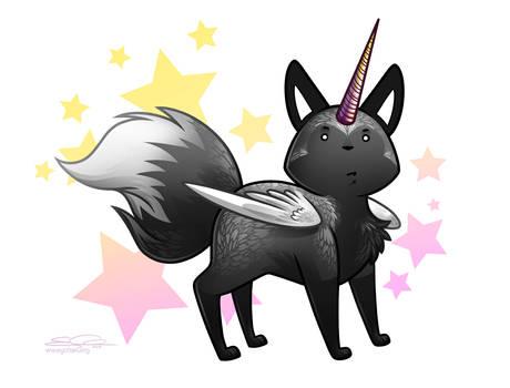 Silver Majestic Fox