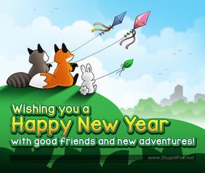 Happy New Year 2019 by eychanchan
