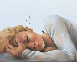 Worries Float Away by eychanchan