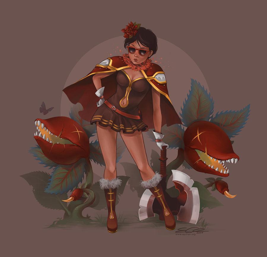 Red Alchemist by eychanchan